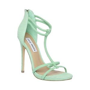 Steve Madden strapping teal sandals